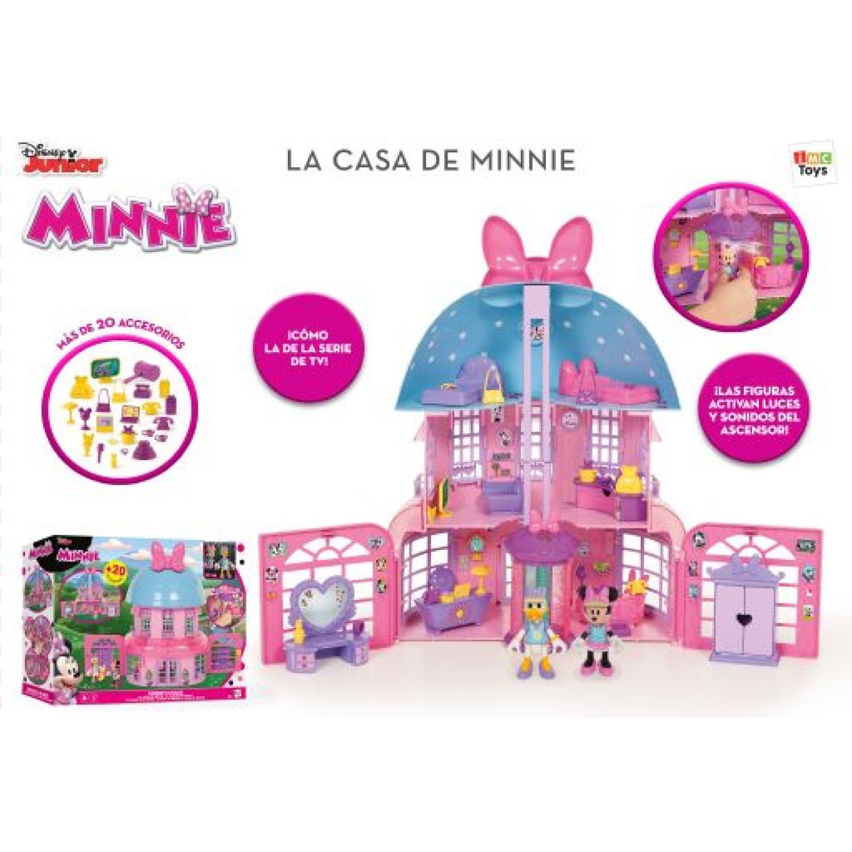 Minnie CASA INCLUYE ACCESORIOS Y DOS MUÑECOS Varios casas de muñecas