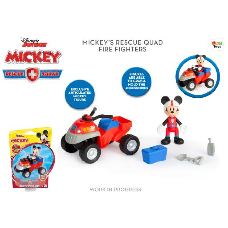 Mickey Vehiculo de rescate MICKEY Varios muñecas