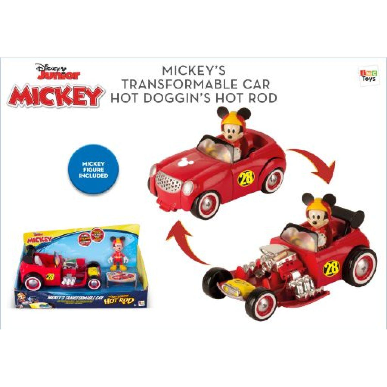 Mickey Vehiculo transformable MICKEY Varios muñecas