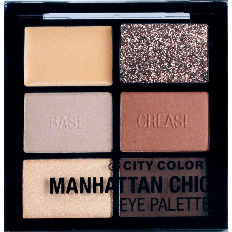 City Color eye shadow palettte- manhattan chic MANHATTAN CHIC Sombra