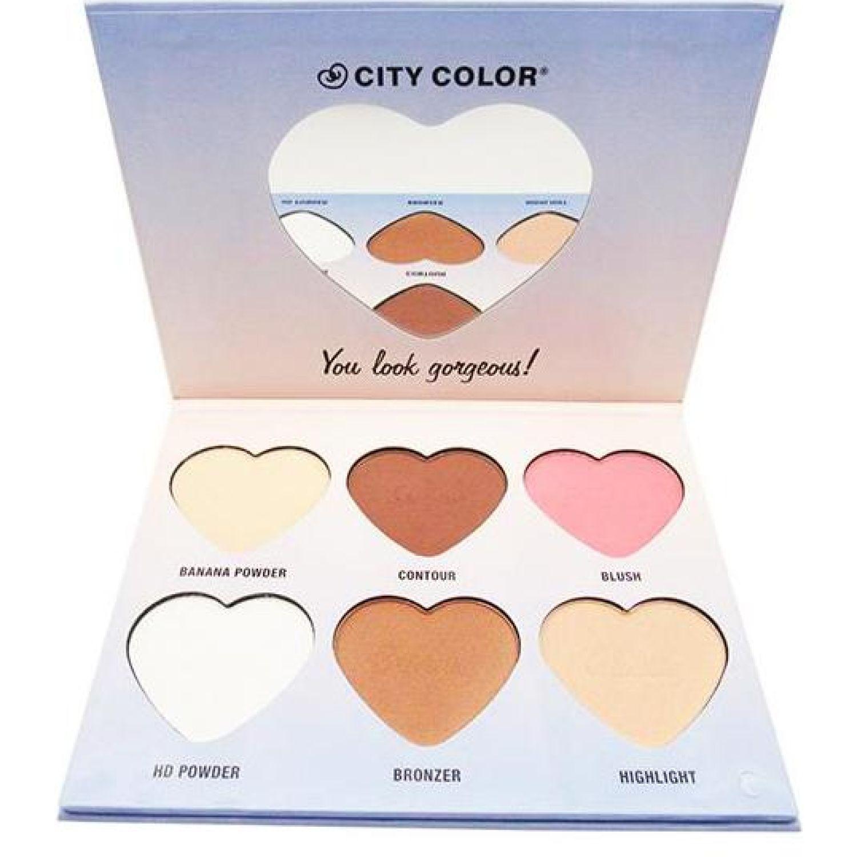 City Color hello beautiful face palette Varios Correctores y neutralizadores
