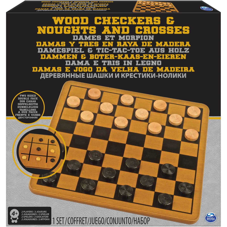 CARDINAL PACK DE 2 (DAMAS /TIC TAC TOE ) Varios Juegos de mesa