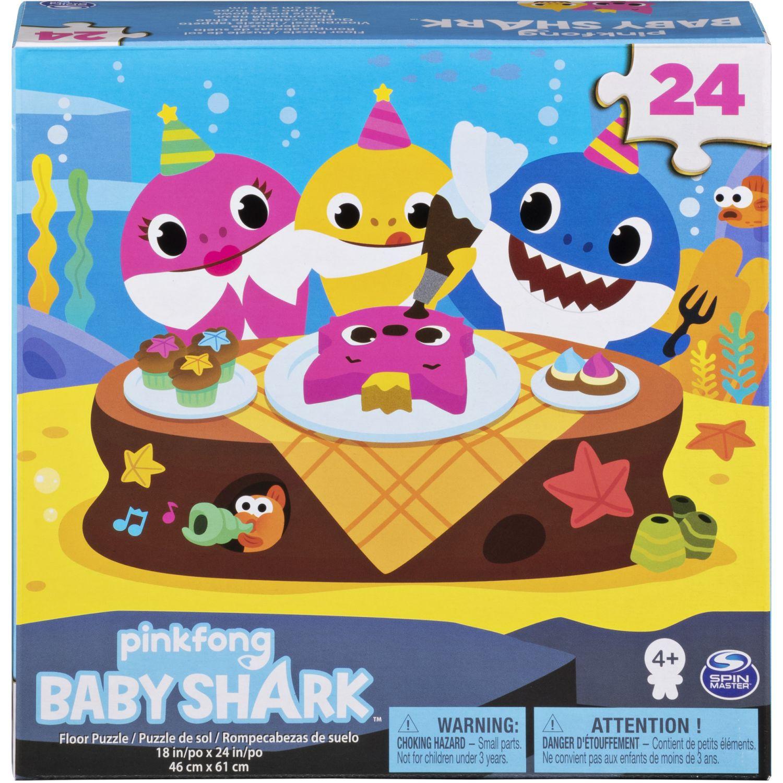 BABY SHARK ROMPEZABEZAS 24 PZAS BABY SHARK Varios 3-D Puzzles