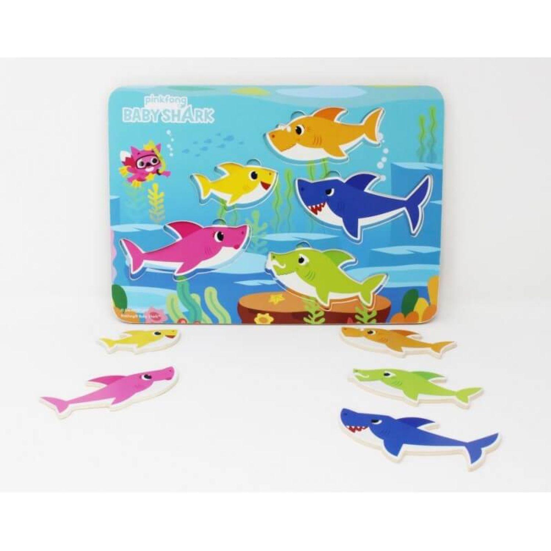 BABY SHARK Rompecabezas Con Forma Baby Shark Varios Rompecabezas 3-D