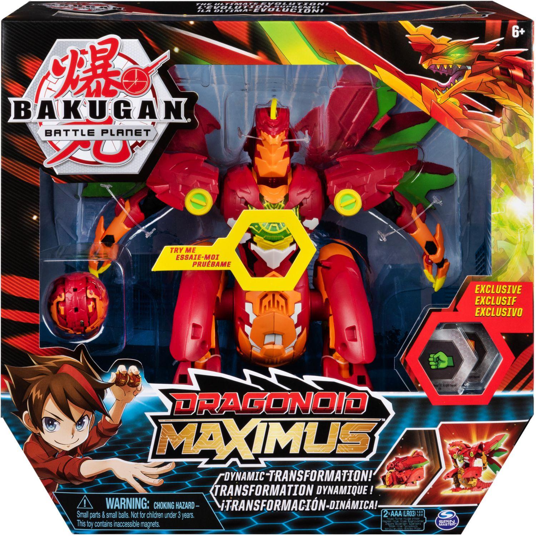 BAKUGAN Figura Deluxe Dragonoid Maximus Varios Figuras de acción