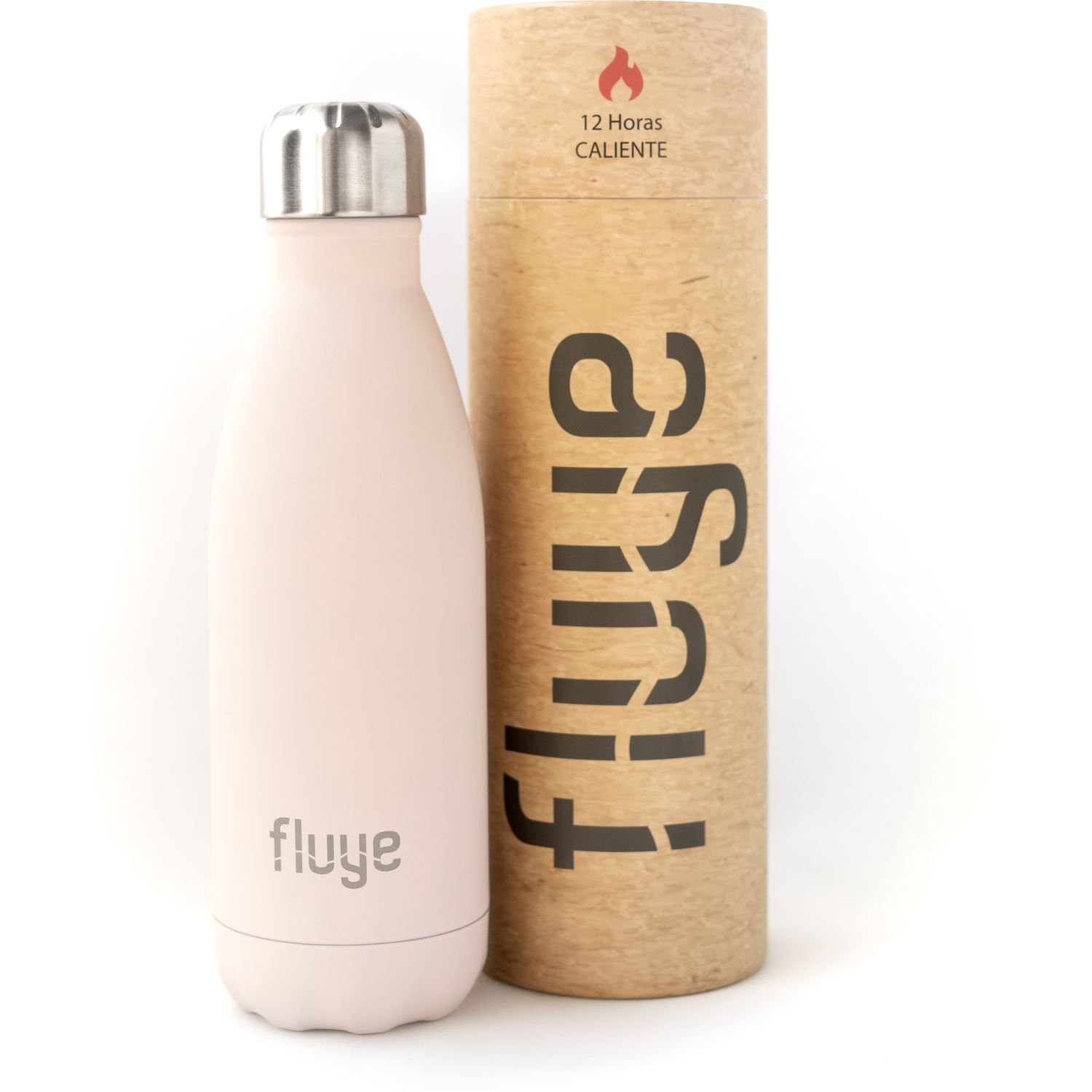 Fluye Bottle Fb Maras 350ml Rosado Botellas de Agua