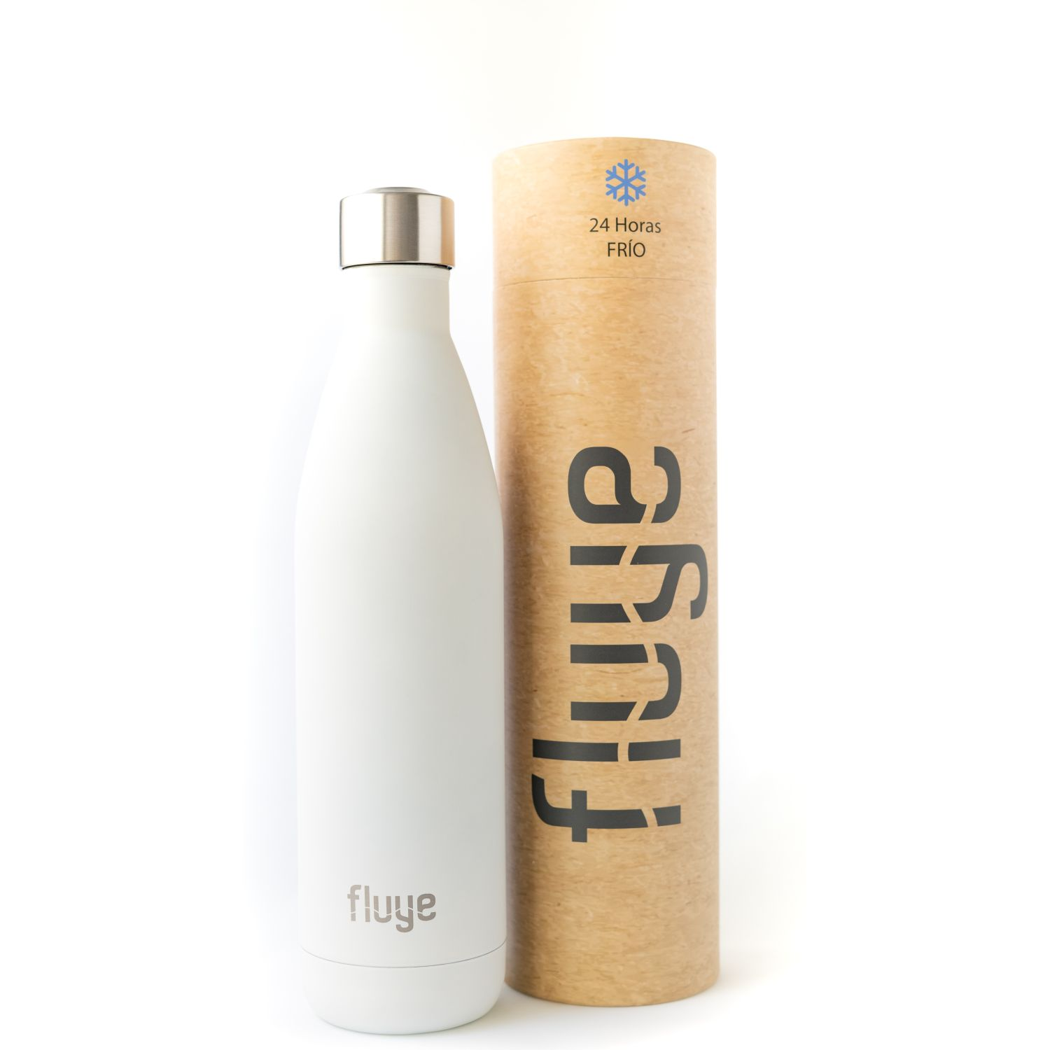 Fluye Bottle FB Bariloche 750ml Blanco Botellas de Agua