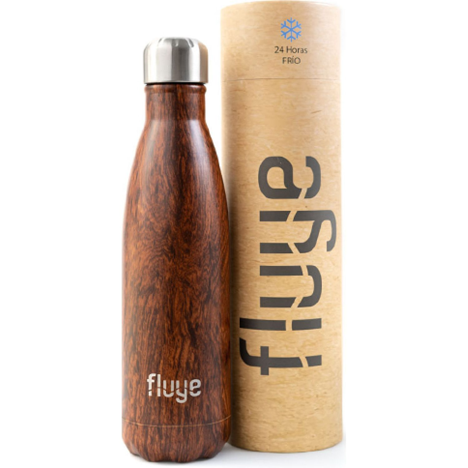 Fluye Bottle Fb Manu 500ml Marron Botellas de agua