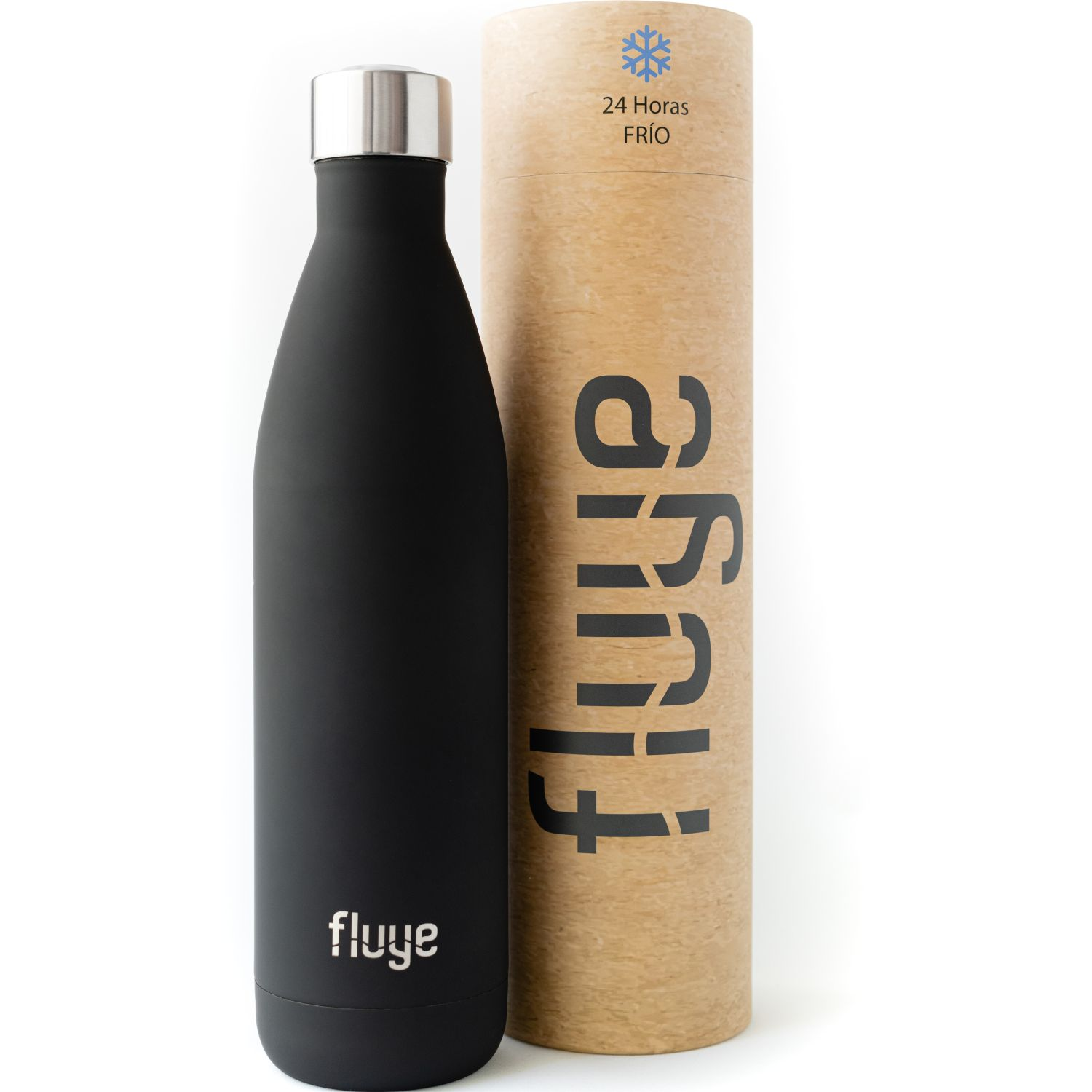 Fluye Bottle FB Curitiba 750ml Negro Botellas de Agua