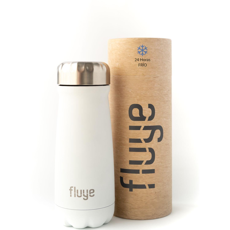Fluye Bottle Fluye Go Bariloche 500ml Blanco Botellas de Agua