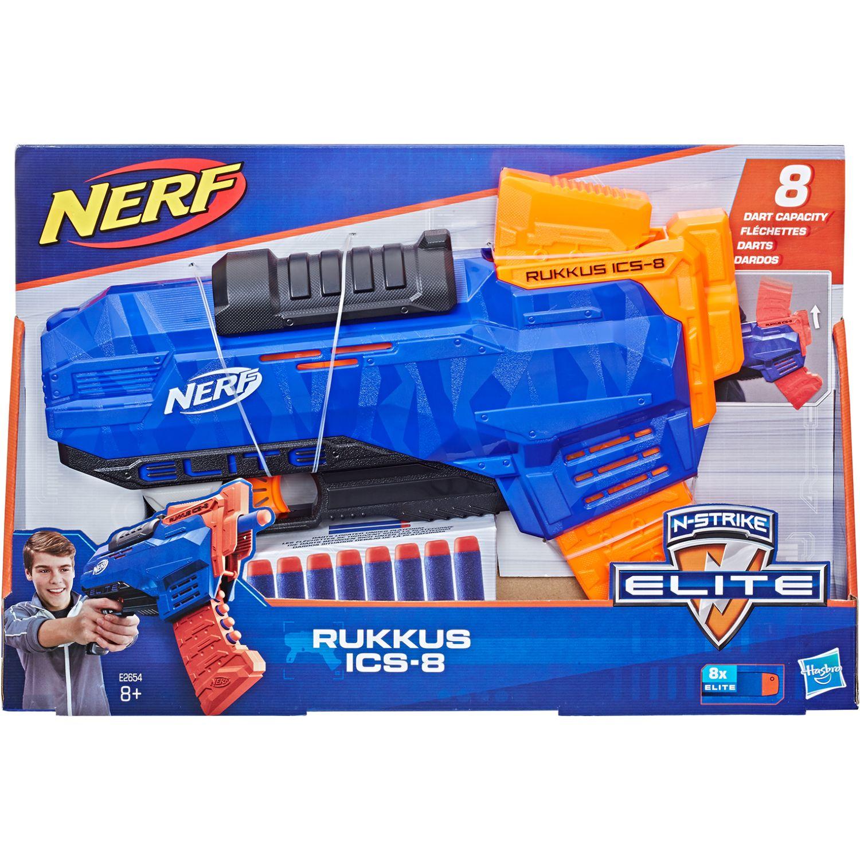 NERF NER ELITE RUCKS ICS 8 Varios Las pistolas de agua, Blasters y maduradores