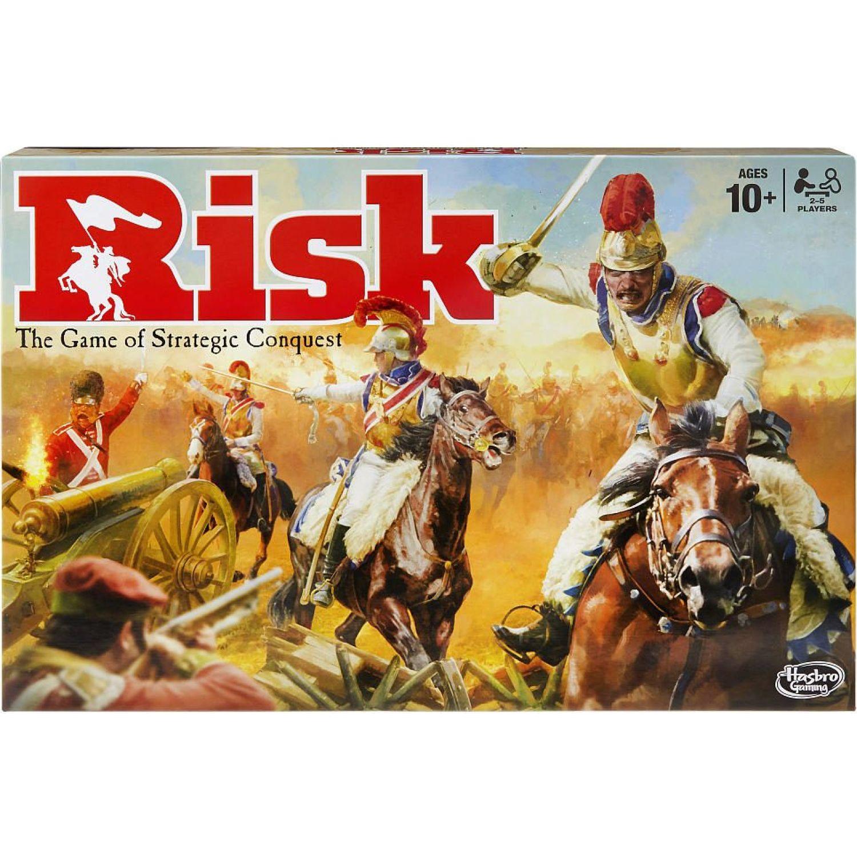 GAMING-HASBRO Risk Varios Juegos de mesa