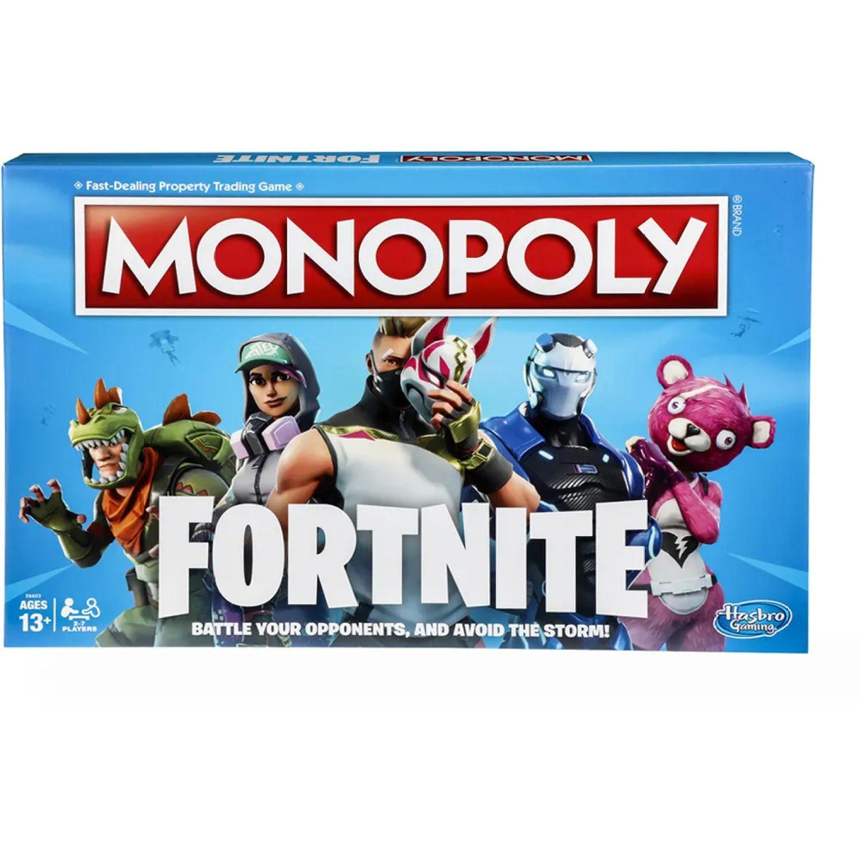 MONOPOLY Mon Fornite Varios Juegos de mesa