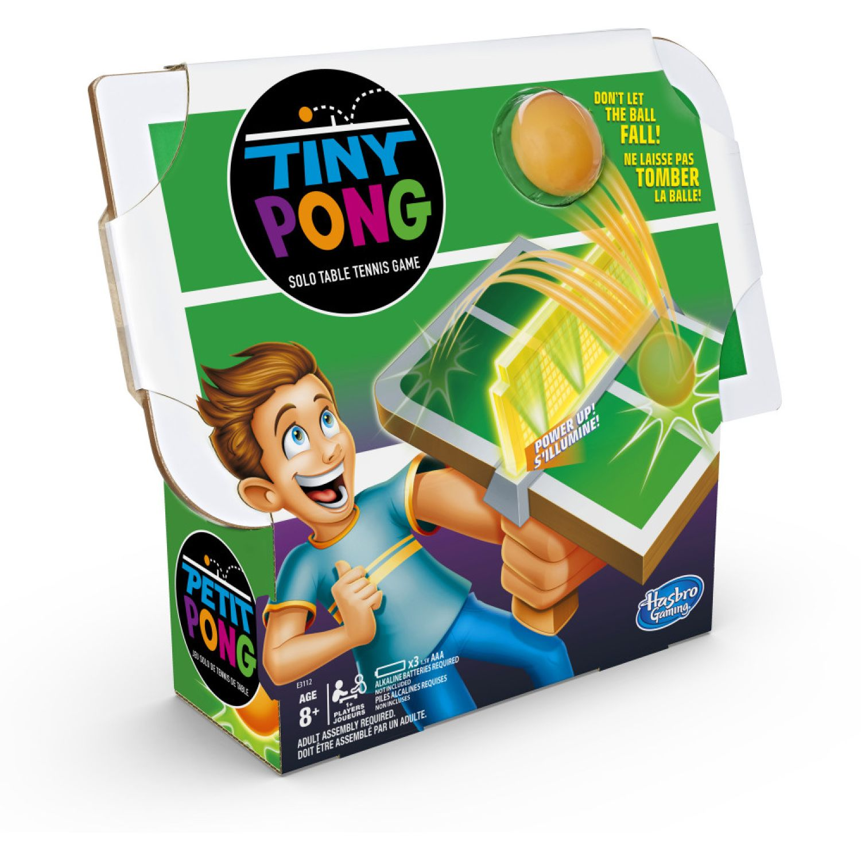 GAMING-HASBRO Tiny Pong Varios Física