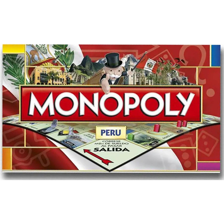 MONOPOLY monopoly perÚ Varios Juegos de mesa