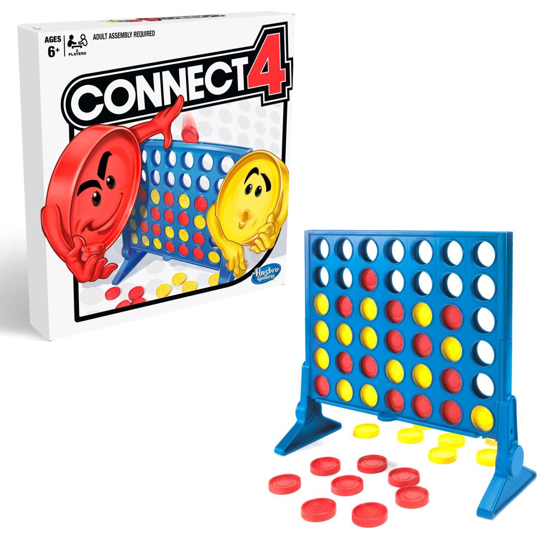 GAMING-HASBRO Conecta 4 Varios Juegos de mesa