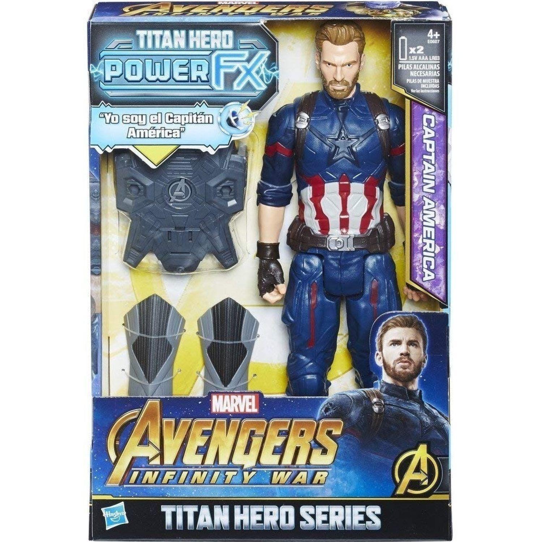 Avengers AVN 12 IN TH POWER PACK CAP Varios Figuras de Acción