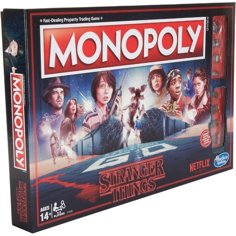 MONOPOLY mon stranger things Varios Juegos de mesa