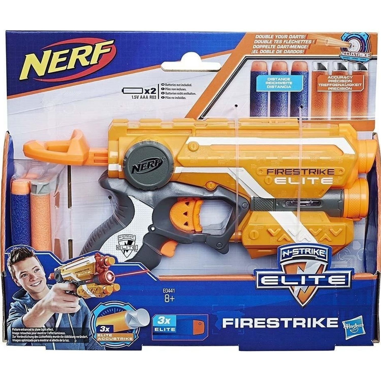 NERF NER ACCUSTRIKE FIRESTRIKE Varios Las pistolas de agua, Blasters y maduradores