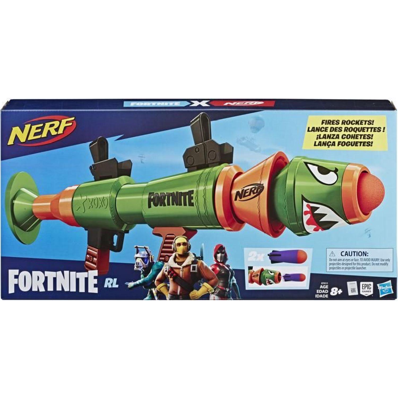 NERF NER FORTNITE RUSTY ROCKET Varios Las pistolas de agua, Blasters y maduradores