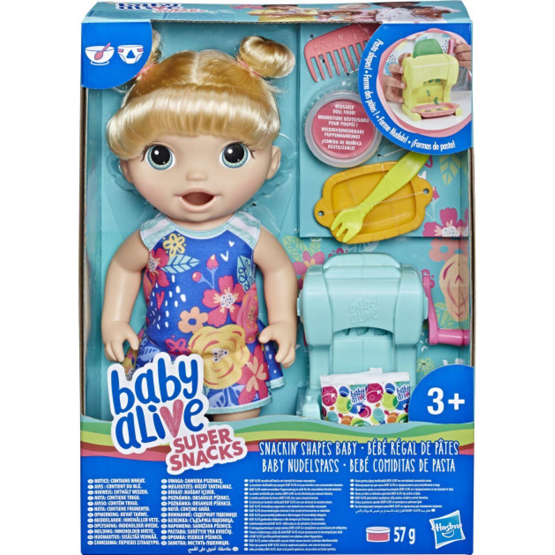 BABY ALIVE ba snackin pasta baby bl Varios muñecas