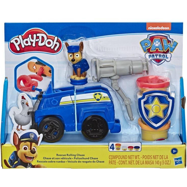PLAY-DOH PD Juego Paw Patrol Chase Varios Palitos para moldear y esculturas