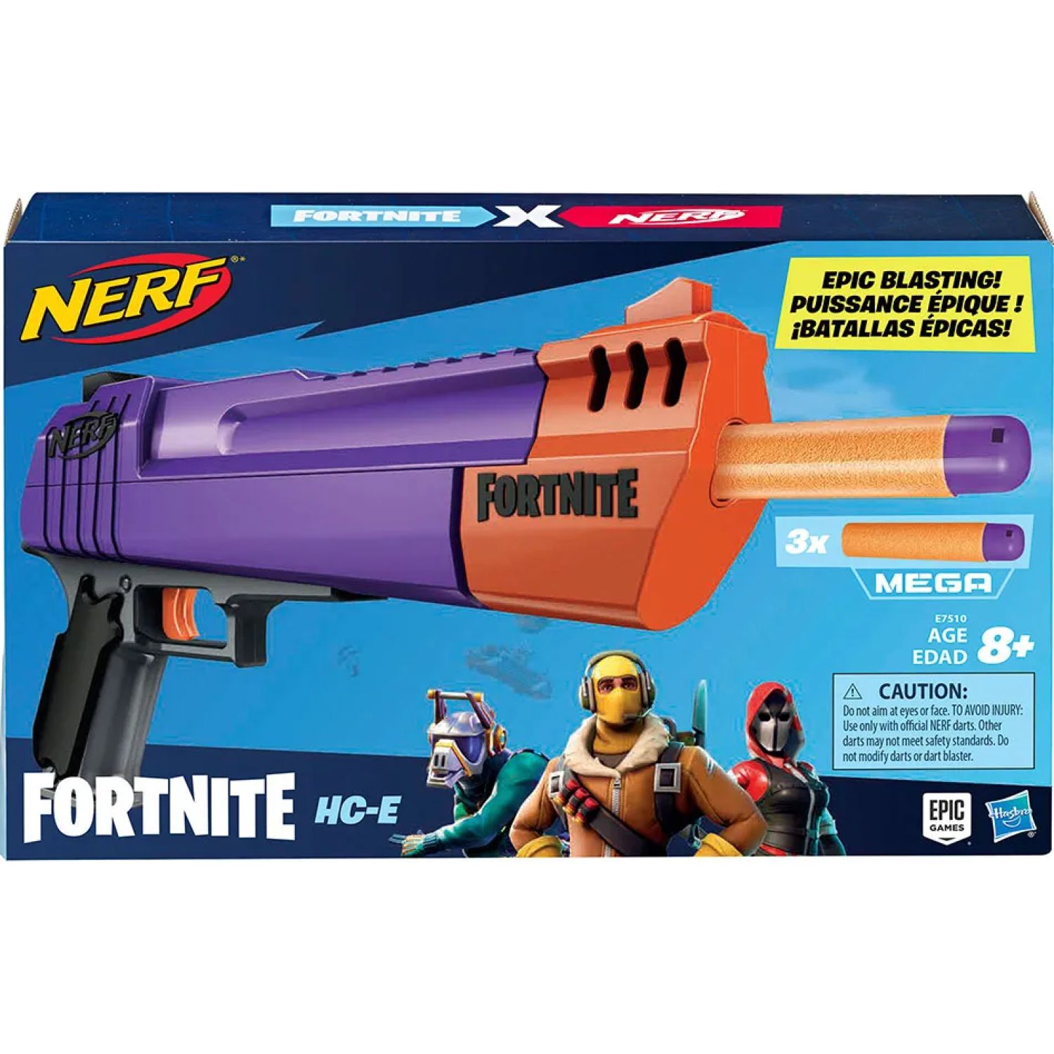 NERF Ner Fortnite Haunted Hand Cannon Varios Pistolas de agua