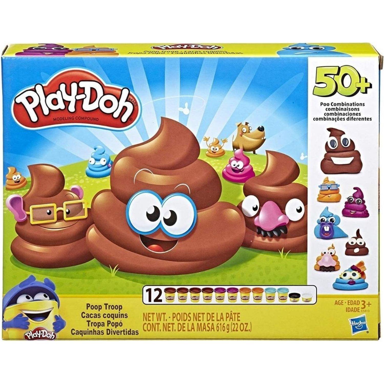 PLAY-DOH PD Ultimate Poop Set Varios Palitos para moldear y esculturas