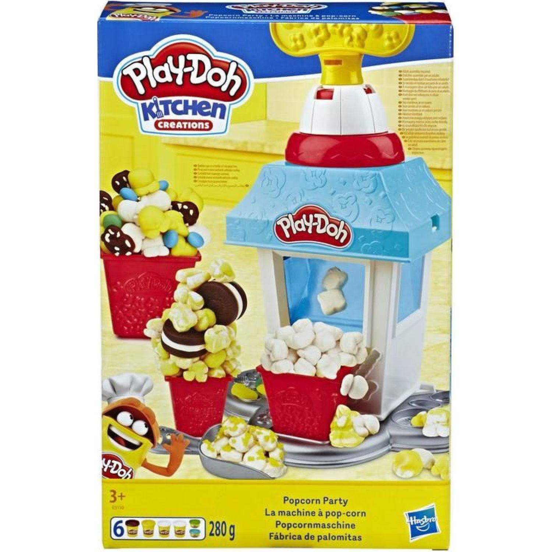 PLAY-DOH PD Fiesta de Popcorn Varios Palitos para moldear y esculturas