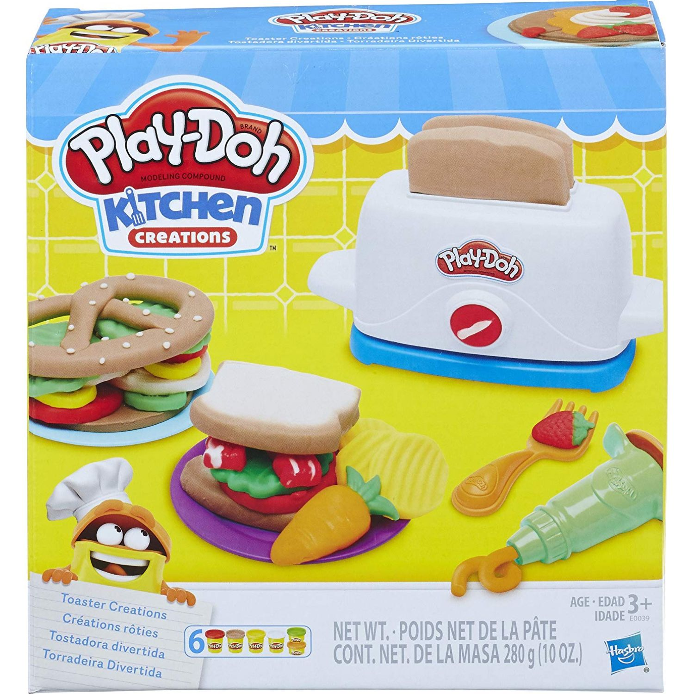 PLAY-DOH pd tostadora divertida Varios Palitos para moldear y esculturas