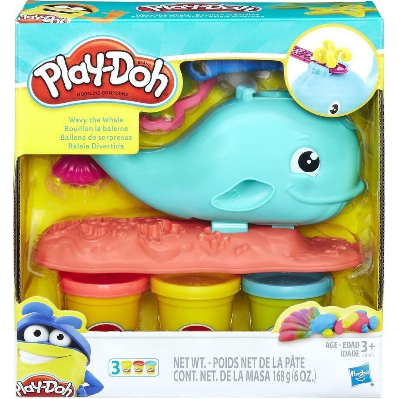 PLAY-DOH pd ballena de sorpresas Varios Palitos para moldear y esculturas