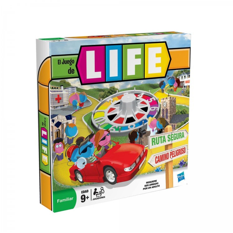 GAMING-HASBRO Life: El Juego De La Vida Varios Juegos de mesa