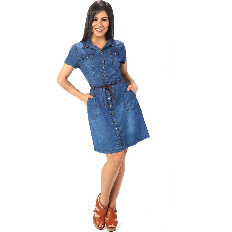FORDAN JEANS vestido denim 579 STONE BLUE Casual