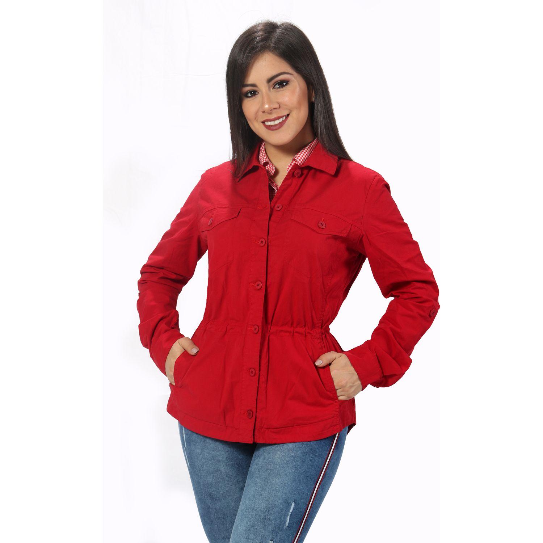 FORDAN JEANS casaca 571 Rojo Parkas