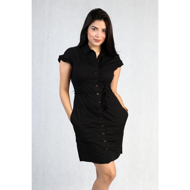FORDAN JEANS vestido jamper 606 Negro Casual