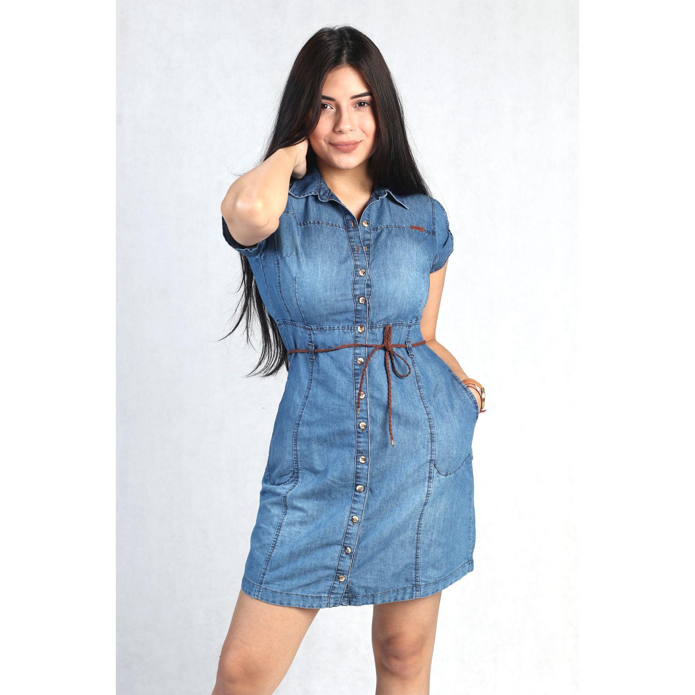 FORDAN JEANS vestido jean 636 LIGTH BLUE Casual