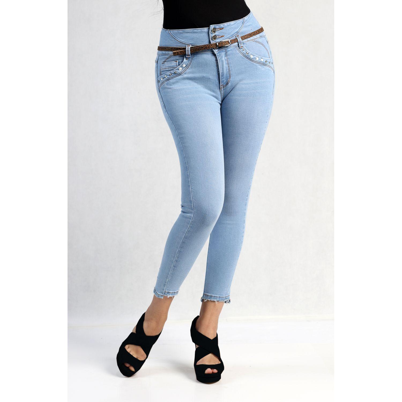 FORDAN JEANS pantalon jean 624 LIGTH BLUE Jeans