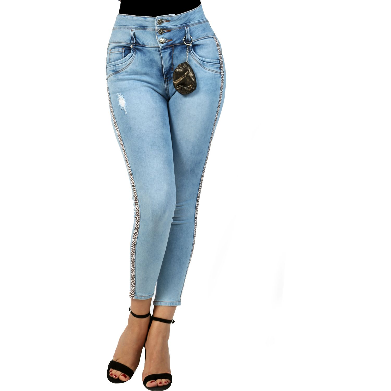 FORDAN JEANS pantalon jean 633 LIGTH BLUE Jeans