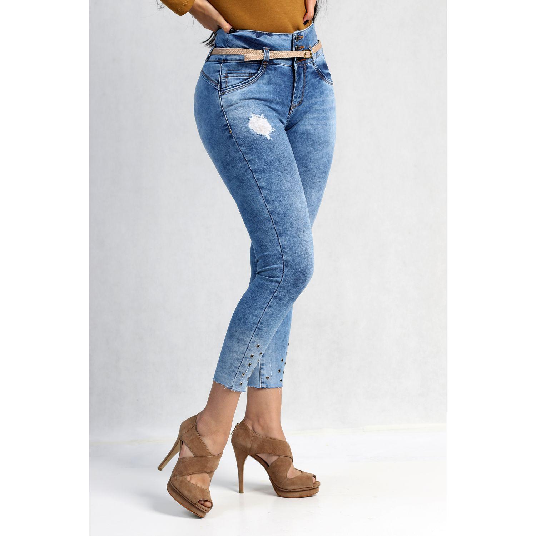 FORDAN JEANS pantalon jean 573 USED BLUE Jeans