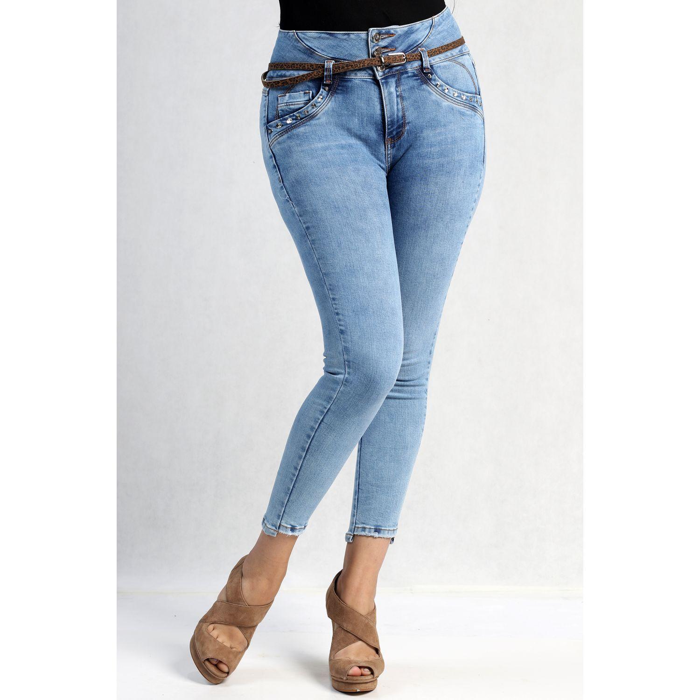 FORDAN JEANS pantalon jean 624 MID BLUE Jeans