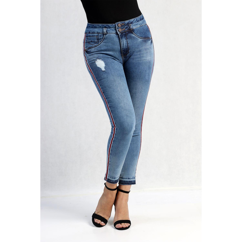 FORDAN JEANS pantalon jean 574 MID BLUE Jeans