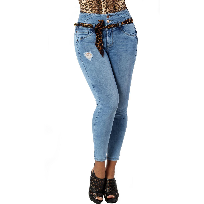 FORDAN JEANS pantalon jean 666 LIGTH BLUE Jeans