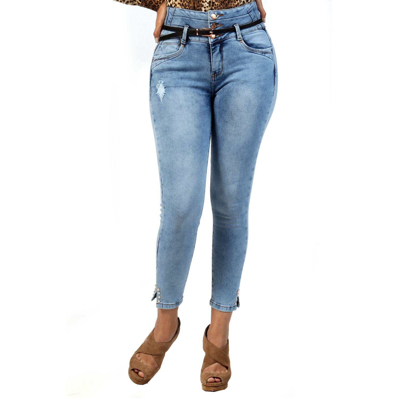 FORDAN JEANS pantalon jean 634 LIGTH BLUE Jeans