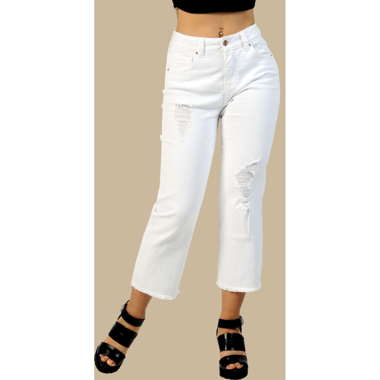 FORDAN JEANS pantalon 641 Blanco Casual