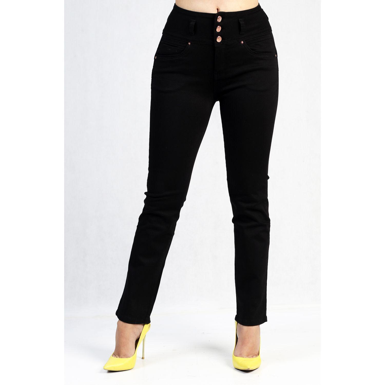 Fordan Jeans Pantalon Drill 735 Negro Casual Platanitos Com