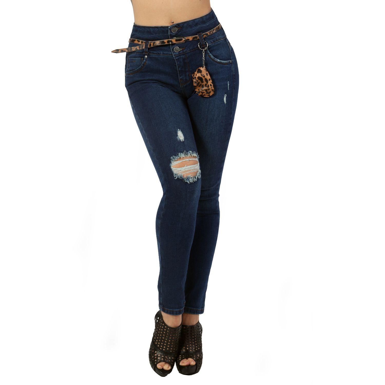 FORDAN JEANS PANTALON JEAN 678 GREEN BLUE Jeans