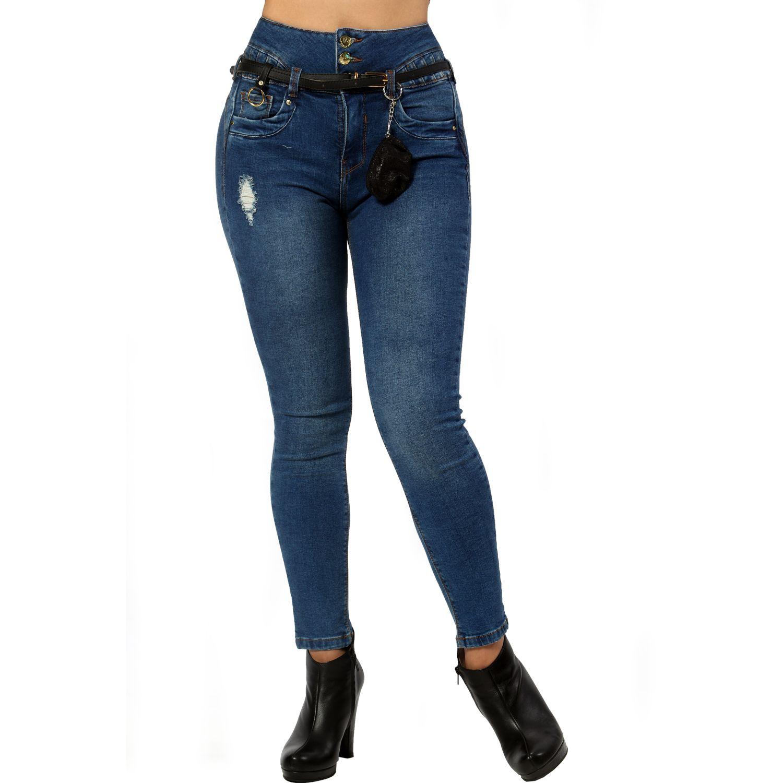 FORDAN JEANS pantalon jean 647 FROZEN MOTEADO Jeans