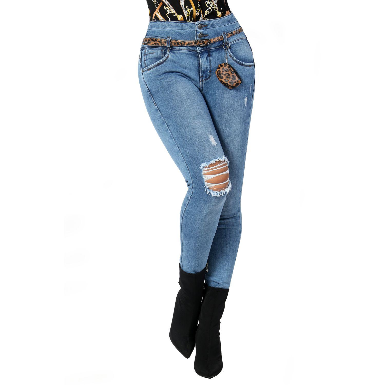 FORDAN JEANS pantalon jean 678 USED BLUE Jeans