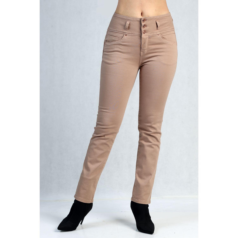 FORDAN JEANS pantalon jean 735 Beige Jeans