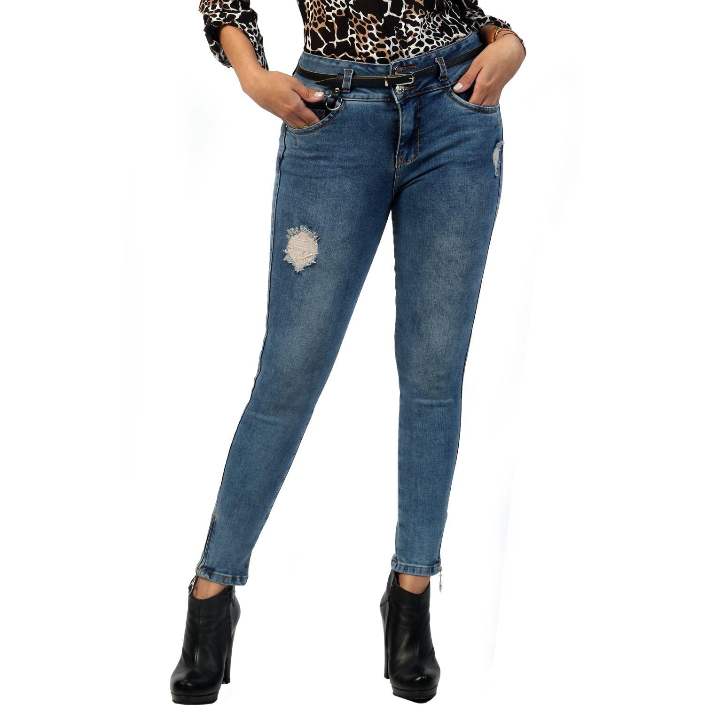 FORDAN JEANS pantalon jean 681 MID BLUE Jeans